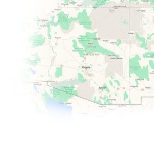 onsite & mobile testing in arizona map